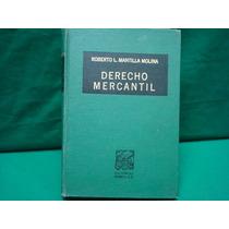Roberto L. Mantilla Molina, Derecho Mercantil.