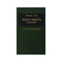 Libro Derecho Mercantil Mexicano -6089