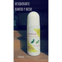 Desodorante De Romero Y Neem