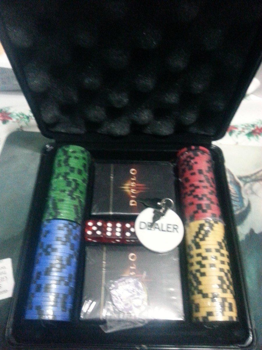 Transformers poker set
