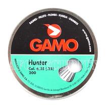Diabolo Gamo Cal 6.35 .25 Con 200 Piezas 3 Latas Por $99.99