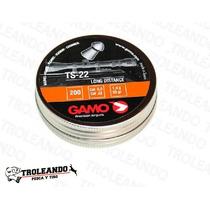 Diabolo Gamo Ts-22 .22 / 5.5 Caja Con 200 Pz