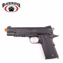 Marcadora Airsoft Blackwater Bw1911r2 Blowback Full Metal