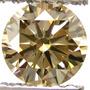 Diamante De Laboratorio Color Champagne Muy Raro Unico 8mm