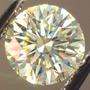 Moissanita Redonda .70ct 6mm Mas Brillante Que El Diamante