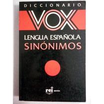 Diccionario De Sinónimos - Vox