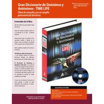 Gran Diccionario De Sinonimos Y Antonimos Time Life