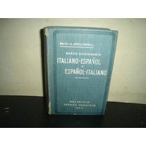 Diccionario Italiano - Español Y Español Italiano - 1912