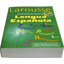 Diccionario Larousse Basico 970-22-1419-x Pasta Verde