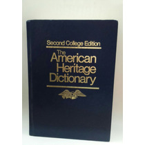 The American Heritage Dictionary, Edit Houghton Mifflin.