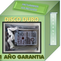 Disco Duro Para Laptop Hp G4 1355la 500gb Garantia 1 Año