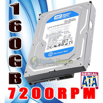 Disco Duro Interno Western Digital 160gb 3.5 Sata Pc 7200