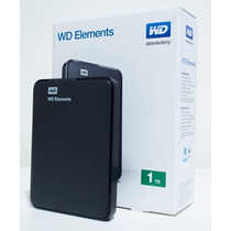 Disco Duro Externo Western Digital Elements 1tb Portatil