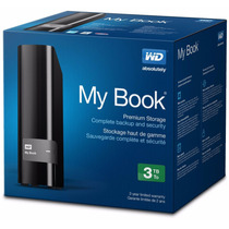 Disco Duro Externo Wd My Book 3tb Escritorio Usb 3.0 Backup