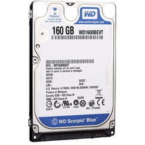 Western Digital Disco Duro 160gb 2.5 Sata Laptop,xbox,ps3