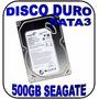 Disco Duro 500gb Seagate Sata3 Para Pc De Escritorio Nuevo
