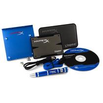 Kit Bundle Duro Estado Solido Ssd 240g Hyperx 3k Kingston