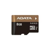 Memoria Micro Sdhc Adata 8 Gb Uhs-i U1 C/ Adaptador (ausdh8g