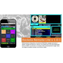 Rockola Remote Lite Para Psrockola, Karaokes Incluidos