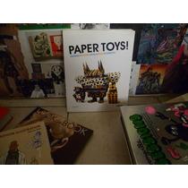 Libro Diseño - Paper Toys Editorial Monsa Por Louis Bou