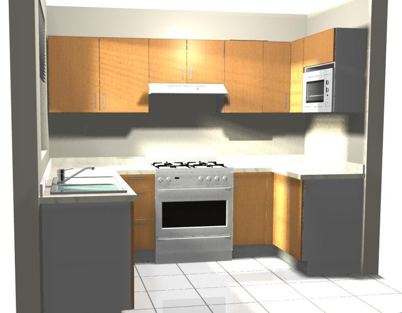 Dise o de cocinas por computadora en 3d y foto realista for Programa de diseno de cocinas integrales