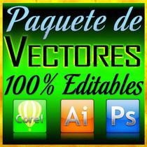 Paquete De Vectores Totalmente Editables Para Publicidad Dmm