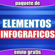 Vectores Infograficos Diseño Grafico Illustrator, Corel