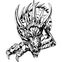 Vectores De Dragones, Vectores Tribales, Vector De Animales