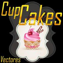 Mega Pack De Vectores Logos E Imagene Cup Cakes Editables