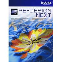 Pe Design 9 Next Brother + Mega Ponchados+programa Extra Vbf