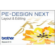 Pe Design 9 Next Brother +150mil Ponchados Gratis