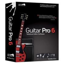 Software Editor De Partituras Arobas Guitar Pro Importado