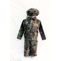 Disfraz De Soldado Camuflajeado!!