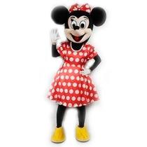 Botarga Disfraz Traje Tamaño Adulto Minnie Mouse Mimi Op4