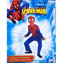 Disfraz Spiderman Hombre Araña Niño Talla 7/8