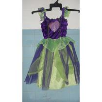 Disfraz De Hada Vestido Talla 2/3 Sp0