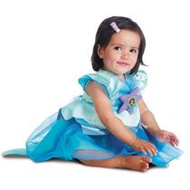 Disfraz Princesa Sirenita Ariel Niña Bebe Talla 12-18 Meses