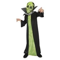 Disfraz De Marciano Alien Zombie Niño Tallas Chica Y Mediana