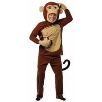 Disfraz Botarga Mono Chango Monkey Adulto Disfraces Hm4