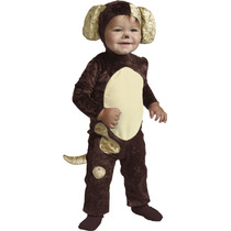 Disfraz De Perrito Perro Niño Bebe Talla 12-18 Meses