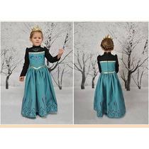 Disfraz Frozen Princesa Elsa Anna Disney Para Niña Vbf