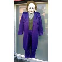 Disfraz Traje Guason Joker Mascara De Latex