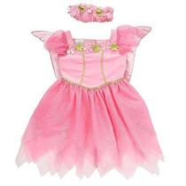 Vestido Disfraz De Ada Con Diadema Para Niña 4t