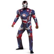 Disfraz Iron Man Patriota Avengers Talla Xxl (42-46) Hombre