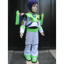 Disfraz Traje Inspirado En Buzz Lightyear C/luz Tela Delgada