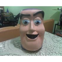 Cabeza De La Botarga De Buzz Lightyear Usada!!!!