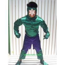 Disfraz Hulk El Hombre Increible Avengers Capitan America