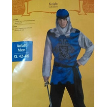 Disfraz Hombre Caballero Knight Rey Adulto Talla L/xl