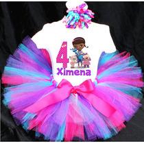 Tutu Disfraz Doctora Juguetes Vestido Niña Bebé Tutus Dora