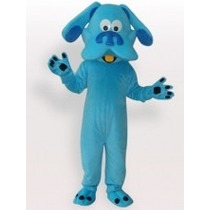 Botarga Disfraz Blue Hippie Dog Caricatura Pistas De De Blue